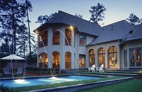 Search home plans by a home 39 s features house plans and more for House plans with wrap around porch and pool