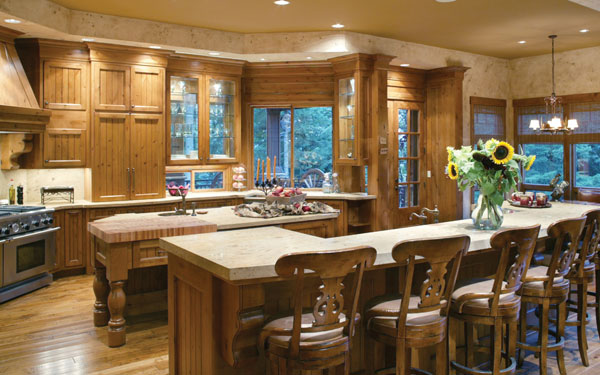 beautiful kitchen with great warmth