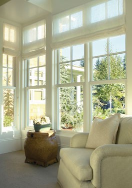 Living large in a small home house plans and more for Large windows for homes