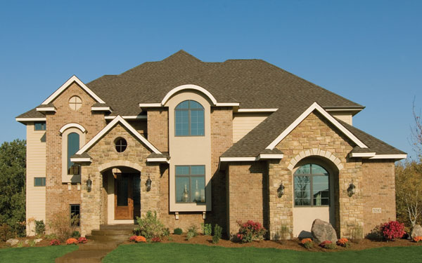 two-story house plan with great curb appeal