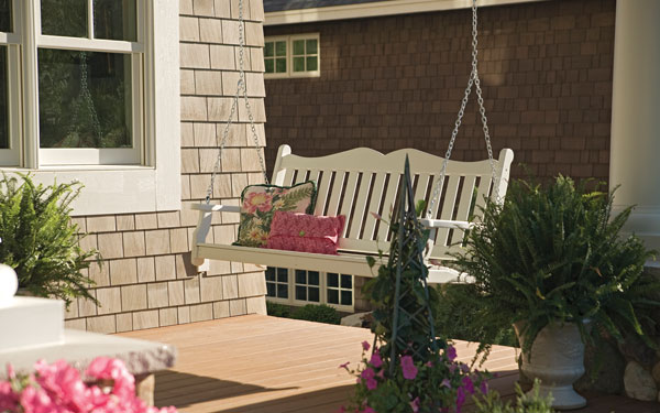 Wrap around and covered porch decor house plans and more for Victorian porch swing plans