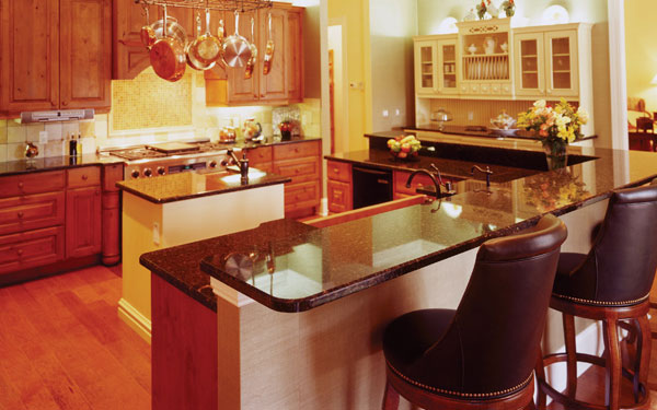 U Shaped Kitchen Layout kitchen layouts: u-shaped kitchens - house plans and more