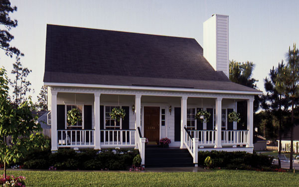 French Creole Home Designs - House Plans and More