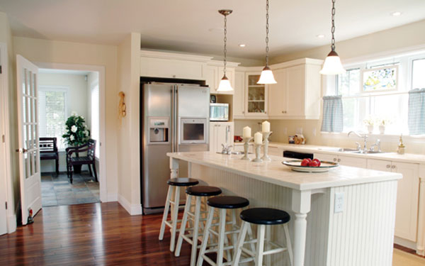 One Wall Kitchen Layout With Island Dream House Experience