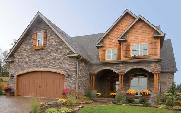 Rustic Country Craftsman Style House Design