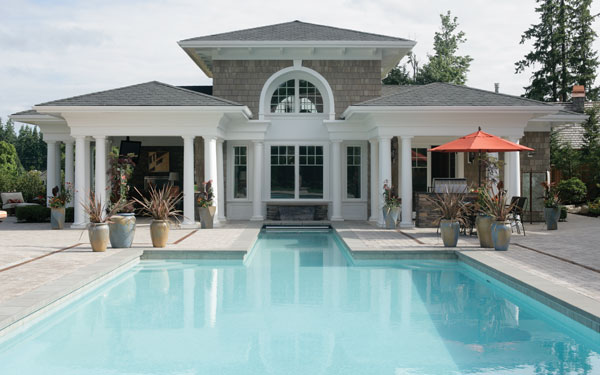Swimming pool safety house plans and more for House plans with swimming pools