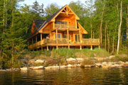 rustic lake home design thumbnail