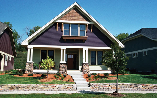 History of bungalow style homes house plans and more - What is a bungalow style home ...