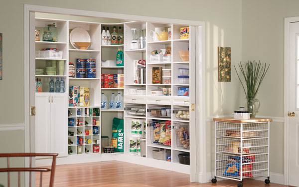 ClosetMaid white pantry