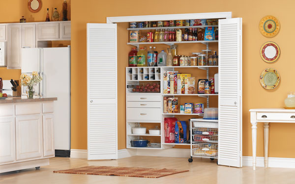 freedomRail kitchen pantry