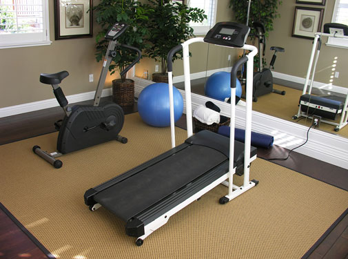 home exercise room