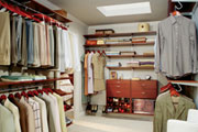 large luxury home plan closet