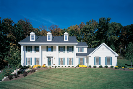 Colonial Home Exterior Design