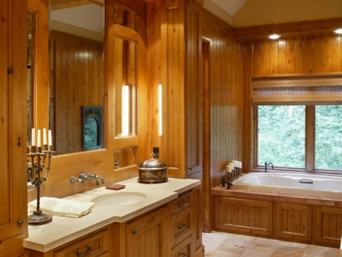 Craftsman Home Bathroom Vanity
