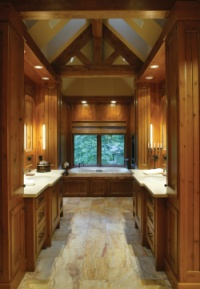 Ranch Home Bathroom