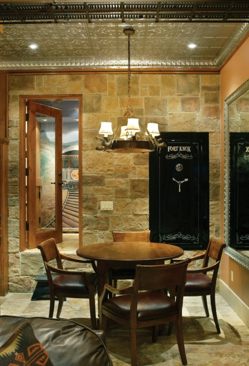 Craftsman Home Safe Room
