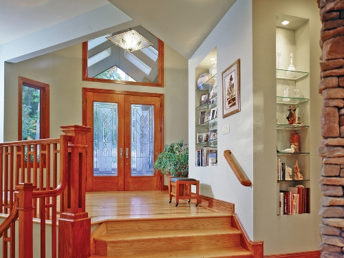 Foyer of Featured Green Home