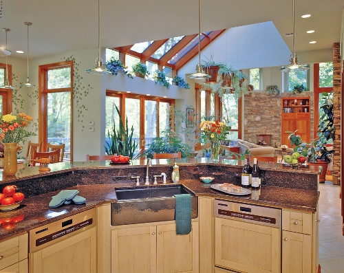 Kitchen of Featured Green Home