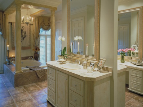 Craftsman Home Master Bathroom