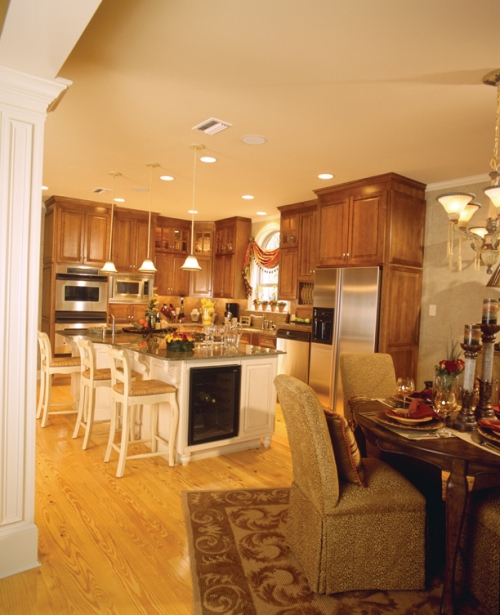 kitchen and living room open floor plans open floor plans open home plans house plans and more 27750