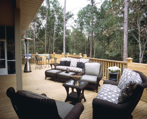 Ranch House Outside Deck