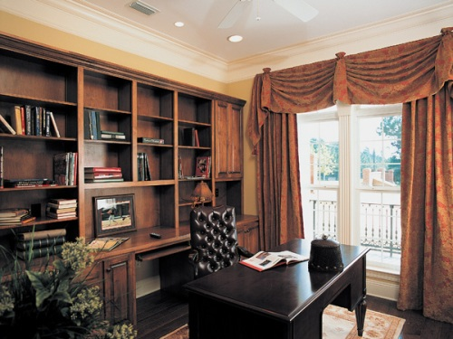 Elegant and formal home office
