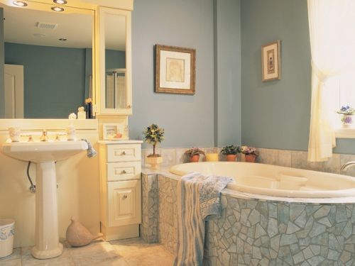 Southern Master Bathroom