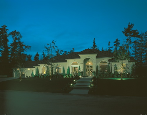 Vacation Home Outdoor Lighting