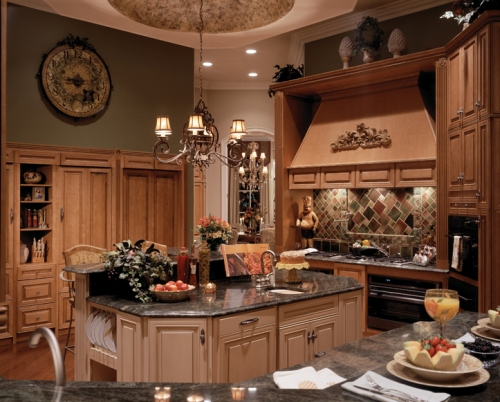 Traditional Home Kitchen