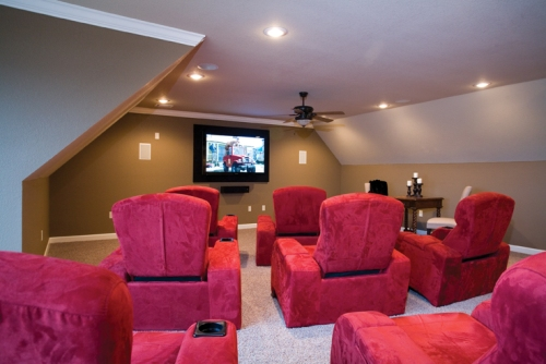 Home Theater loft