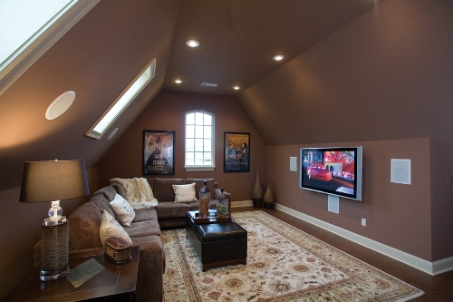 ideas for small bedrooms with slanted ceilings - Bonus Room Ideas Flex Spaces – House Plans and More