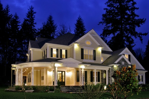 Southern Home Outdoor Lighting. View This House Plan