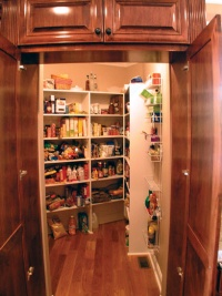 Craftsman Home Kitchen Pantry