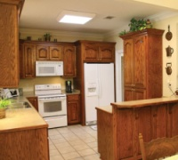 Ranch Home Kitchen