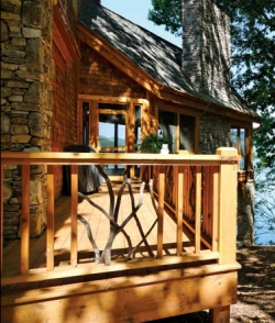 Rustic Home and Deck