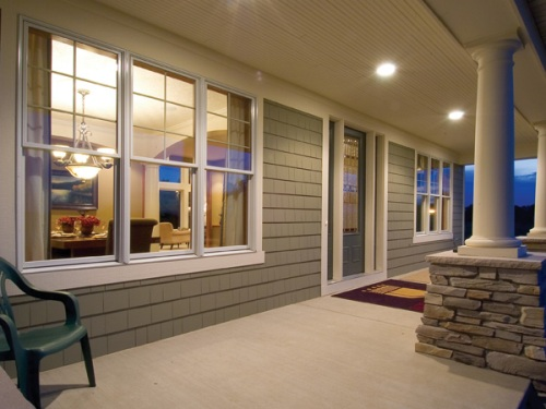 House Plan Porch Windows