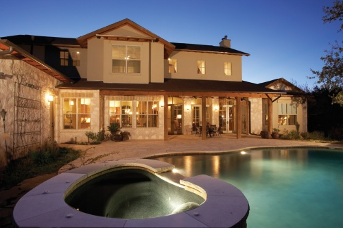 Luxury Home Outdoor Lighting