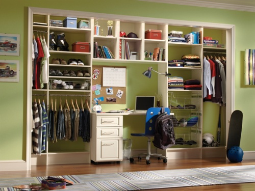 Kids Executive Closet Organization System