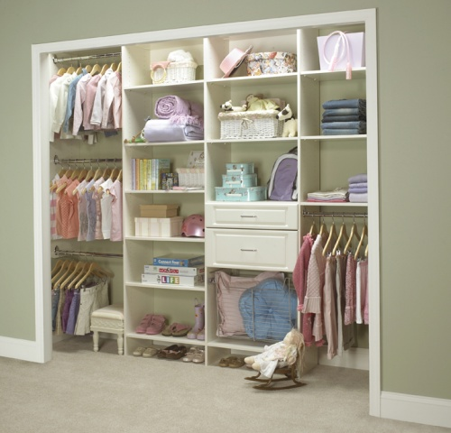 Delightful Kids Closet Organization System