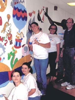 McKesson Corporation volunteering to help children