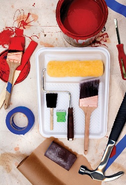 interior home painting tools
