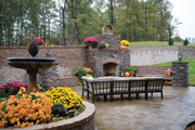 Country Outdoor Living Space