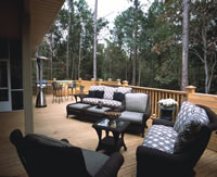 House Plan Backyard Deck