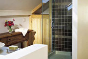 Bright Bathroom With Skylights thumbnail