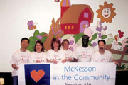 McKesson volunteers for Riverside Community Care