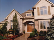 Exterior Doors of Traditional House Plan