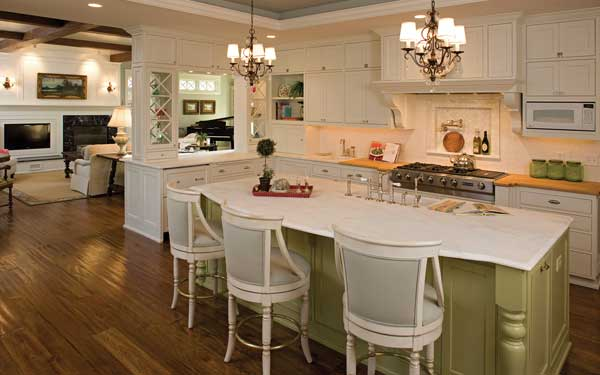 Luxury Country French Kitchen