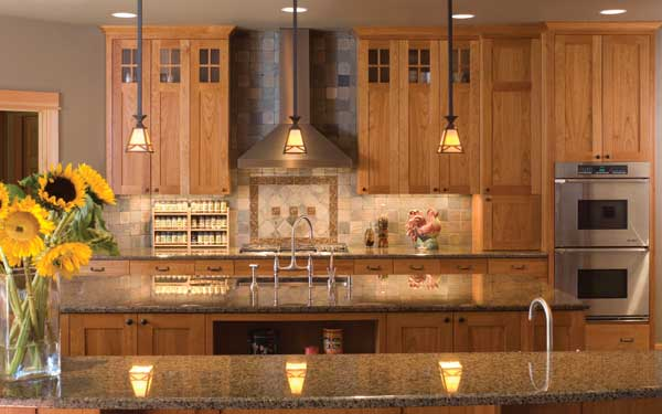 craftsman country kitchen