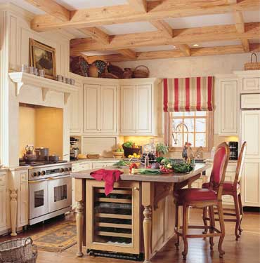 luxury country kitchen