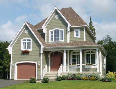 two-story home with great curb appeal